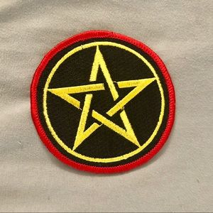 Accessories - Pentagram Embroidered Patch